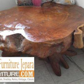 meja antik kayu jati