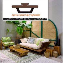 Kursi Sofa Surabaya Kayu Trembesi Desain Modern