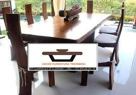 meja makan trembesi murah