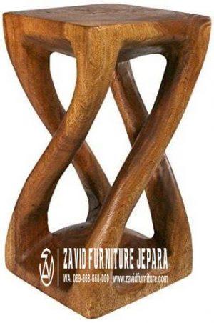 kursi trembesi stool terunik kayu solid terbaru