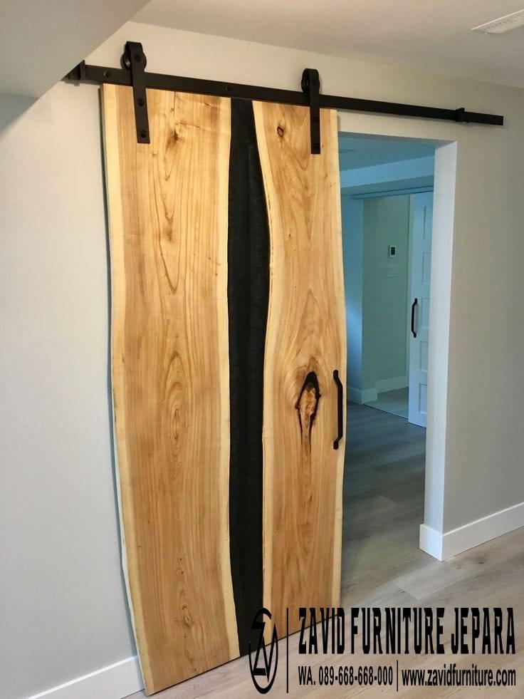 Jual Pintu Resin Dari Kayu Solid Mewah Harga Murah