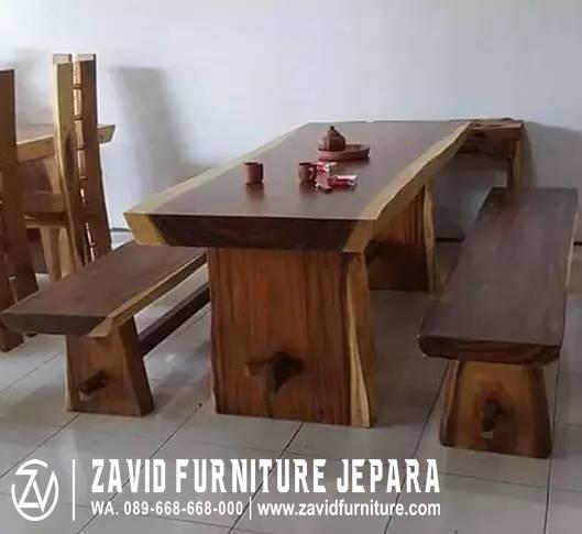 Jual Meja Kayu Sonokeling Minimalis Solid Harga Terjangkau