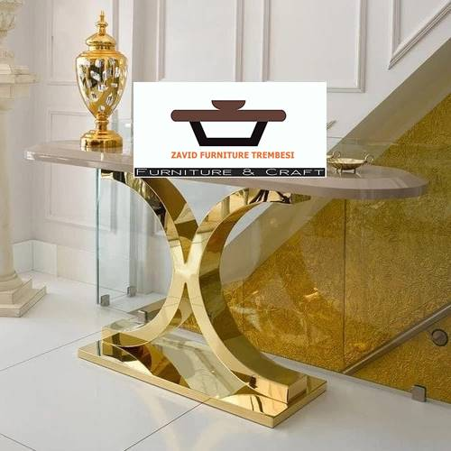 Jual Kaki Meja Stainless Gold Murah