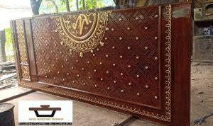 Jual Pintu Masjid Nabawi Kayu Jati Ukiran Mewah