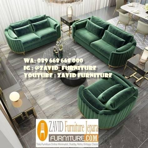 Sofa Elegan Minimalis Kualitas Bagus Di Indonesia