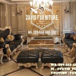Sofa Mewah Ruang Keluarga Murah Kekinian