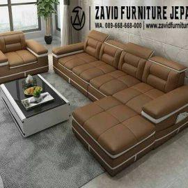 Jual Sofa Sudut Mewah Minimalis Terbaru