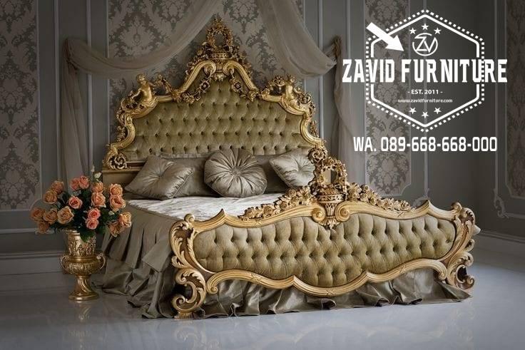 Jual Tempat Tidur Klasik Eropa Murah